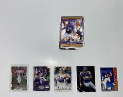 142 minnesota vikings football cards mystery pack