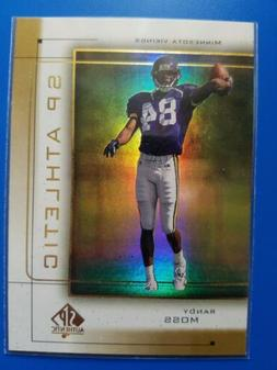 1999 SP Authentic Athletic - #A1 - Randy Moss - Minnesota Vi