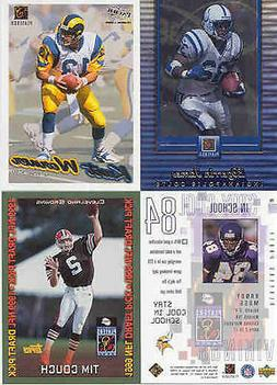 2000 SUPER BOWL PLAYERS PARTY SET RANDY MOSS KURT WARNER EDG