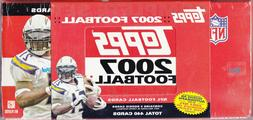 2007 Topps Football Factory Sealed Set Adrian Peterson RC La