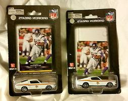 2008 Minnesota Vikings 1967 Ford Mustang Fastback Die Cast w