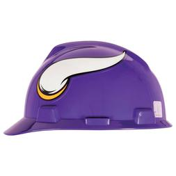 MSA 818400 NFL Hard Hat, Minnesota Vikings, Pur/Wht