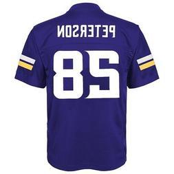 Adrian Peterson NFL Minnesota Vikings Mid Tier Home Purple J