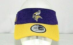 adult minnesota vikings official adjustable purple visor