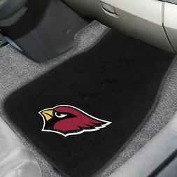 Arizona Cardinals 2 Piece Embroidered Car Auto Floor Mats