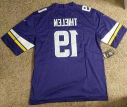 Brand New Minnesota Vikings #19 Thielen Large Mens Football