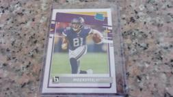 Justin Jefferson Minnesota Vikings 2020 Donruss Card RC