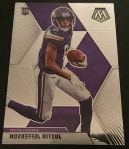 JUSTIN JEFFERSON x2 BASE 2020 Mosaic RC   - Minnesota Viking