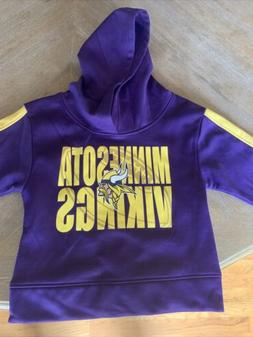 Kids 3T Minnesota Vikings Hoodie Sweathshirt Official NFL Te