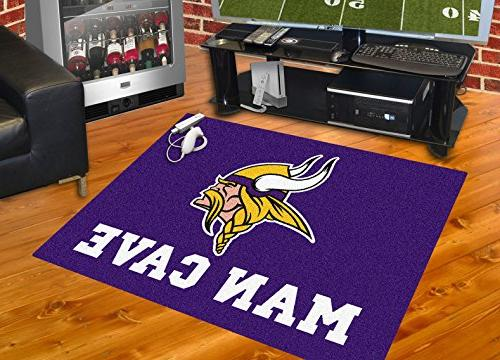 FANMATS 14328 Minnesota Vikings Nylon Universal Cave All-Star