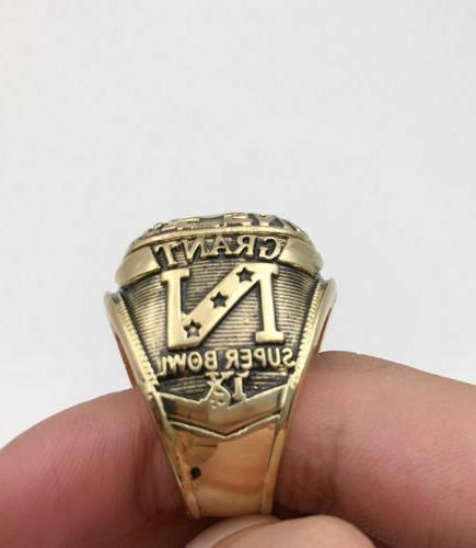 1974 Minnesota Bowl NFC 18k GOLD Sz 11