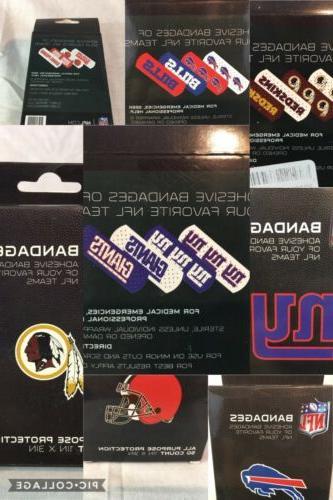 2 BANDAGES, 50/BOX NFL OPTIONS