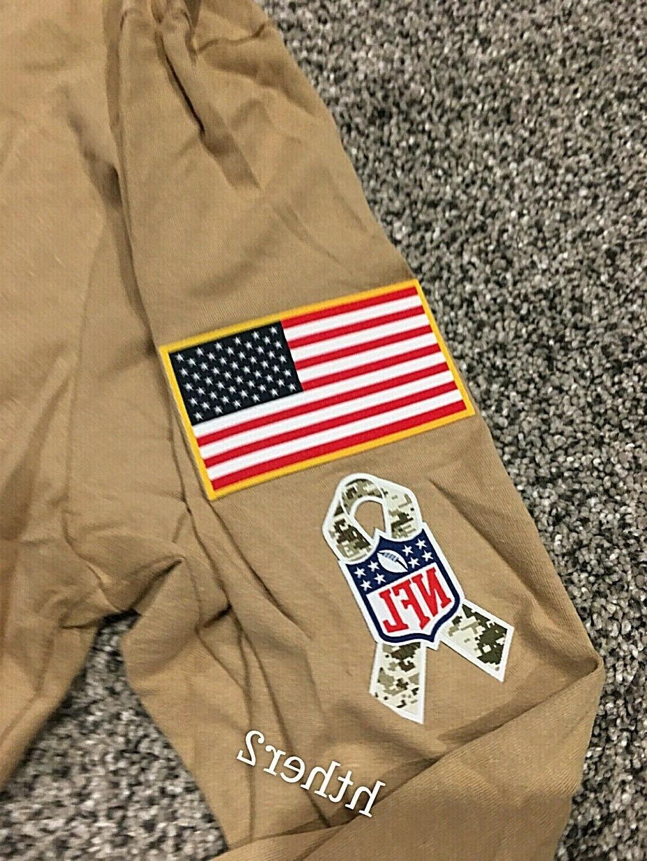 2019 Vikings Nike Salute to Sleeve Shirt M