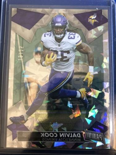 2019 panini day dalvin cook cracked ice