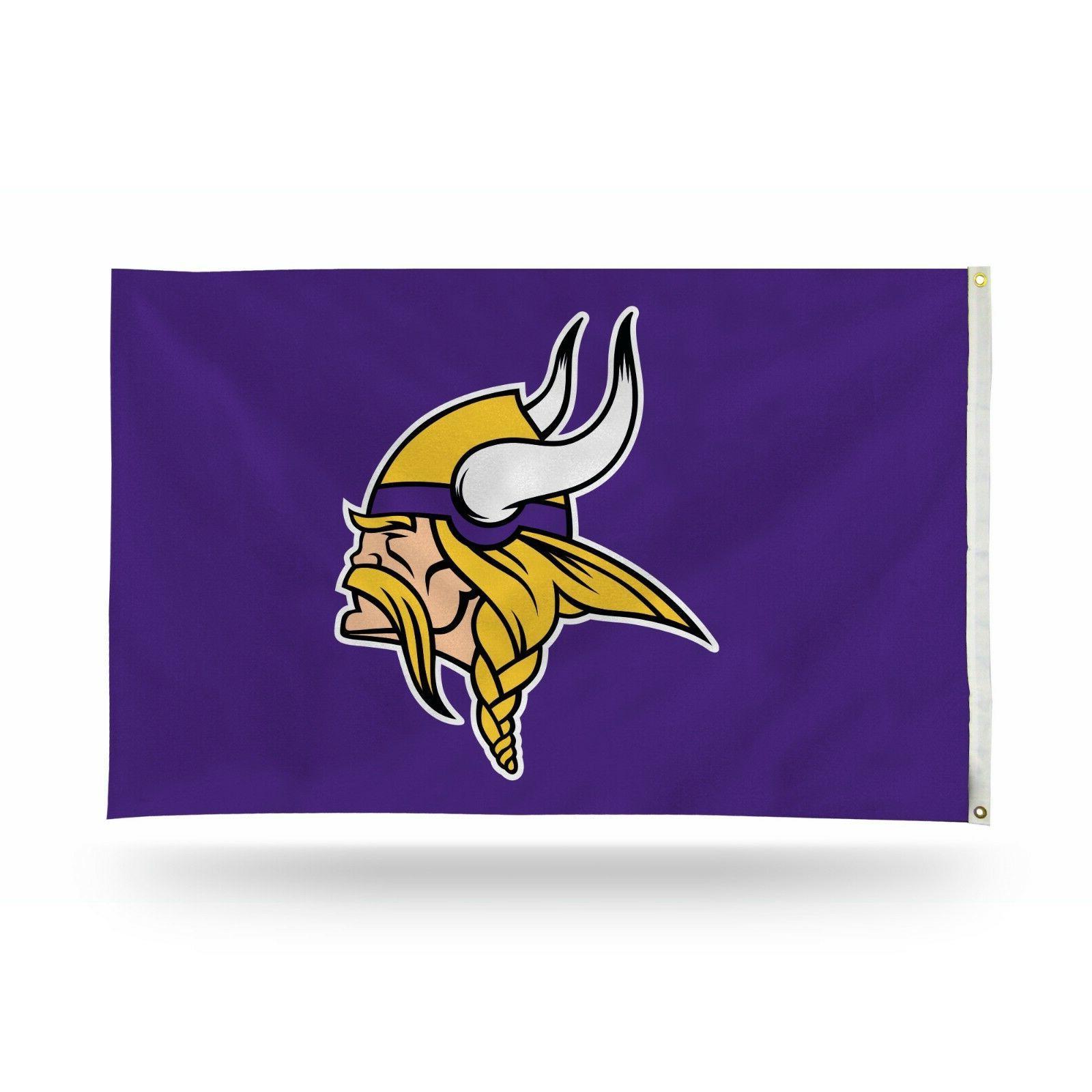 3x5 outdoor flag nfl football minnesota vikings