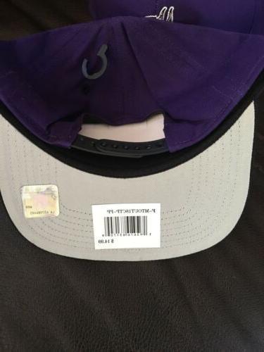 6 Minnesota Purple Baseball Excellent