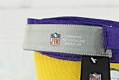 Adult New Vikings Adjustable Purple Visor