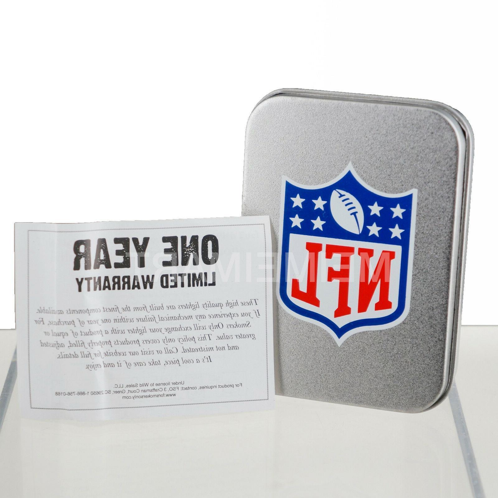 NFL Windproof Refillable Butane Box *LICENSED