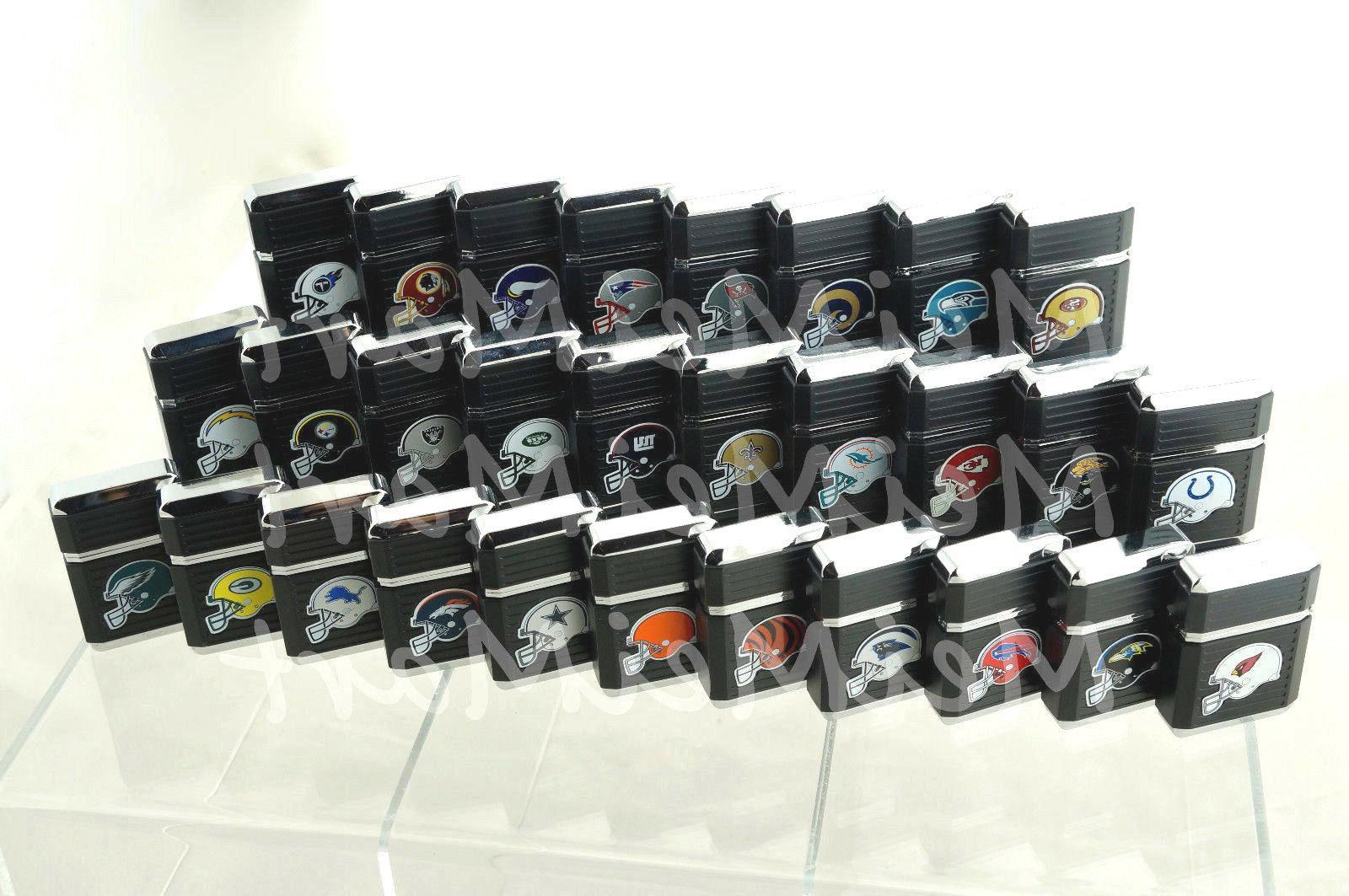 NFL Refillable Butane Lighter Box *LICENSED