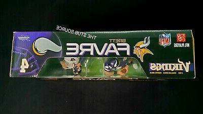 Brett McFarlane Vikings Figures White NFL 2 Pack Sealed
