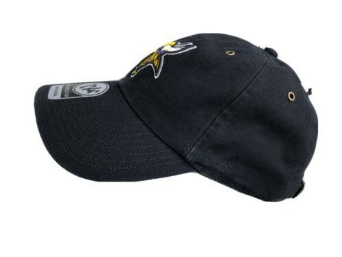 Carhartt 47 Brand Vikings NFL Black Cap NWT