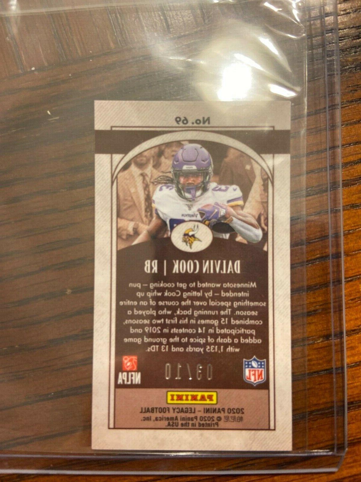 Dalvin Cook PINK ICE /10 No.69