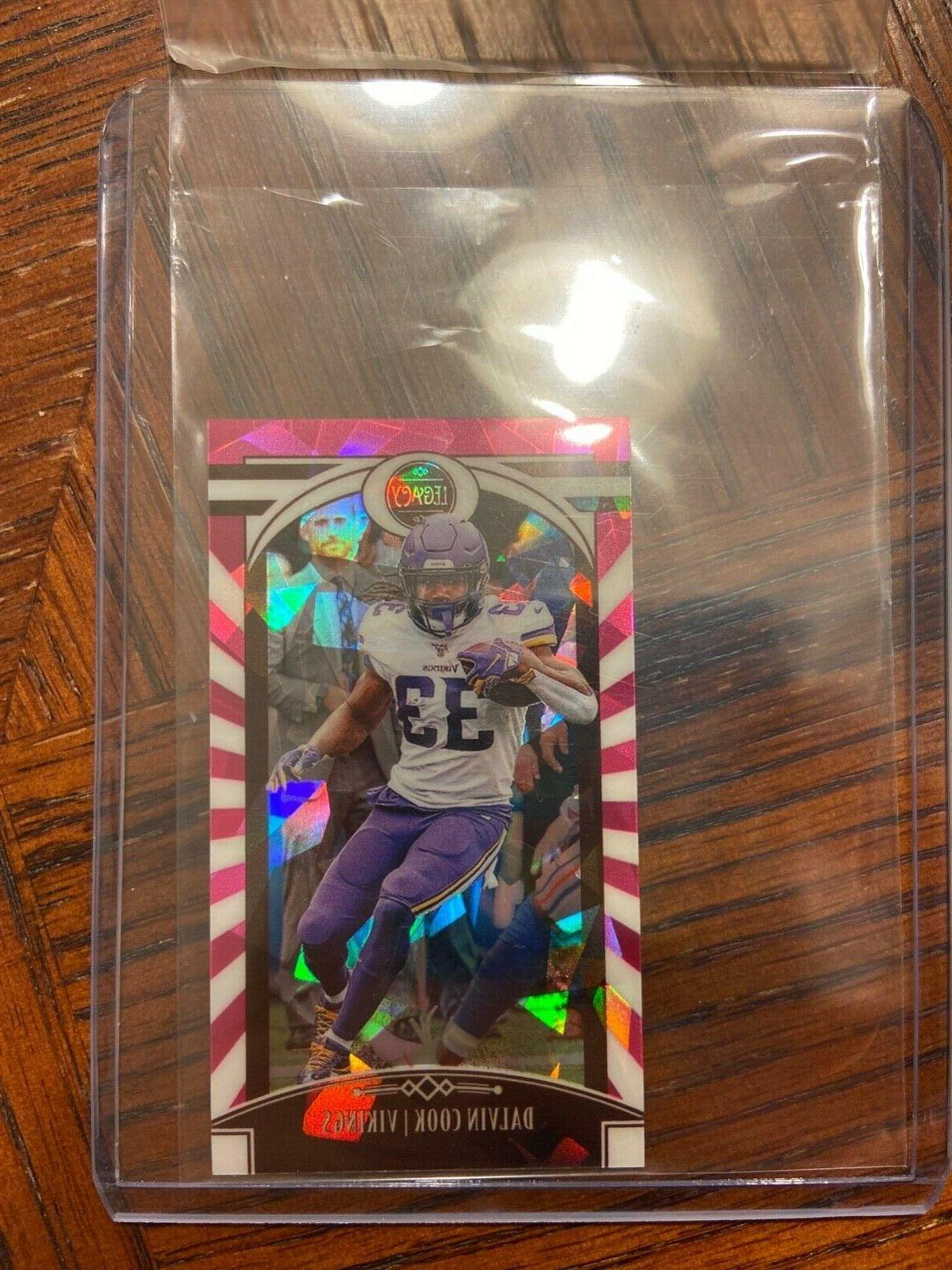 dalvin cook pink cracked ice mini 3