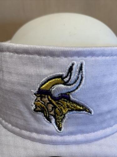 Minnesota Vikings Gray Camp Official Visor -