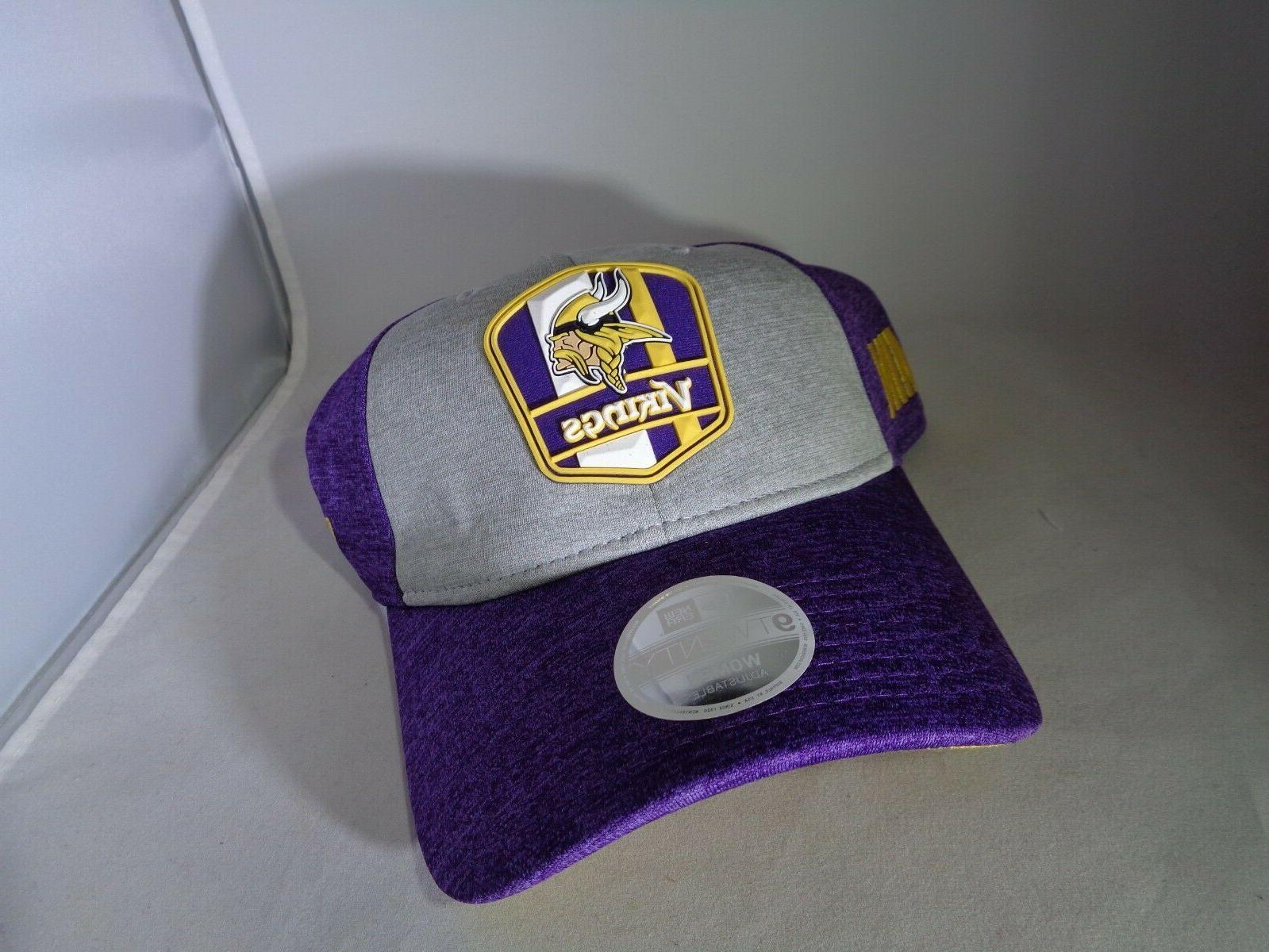 minnesota vikings 9twenty adjustable baseball hat cap
