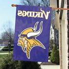 """Minnesota Vikings 44"""" x 28"""" Applique and Embroidered 2-Sided"""
