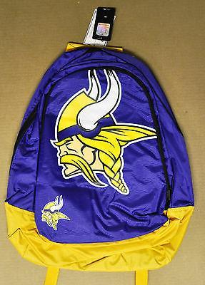 minnesota vikings backpack back pack book bag