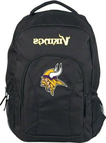 minnesota vikings backpack nfl draftday green school