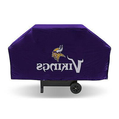minnesota vikings bbq grill cover deluxe