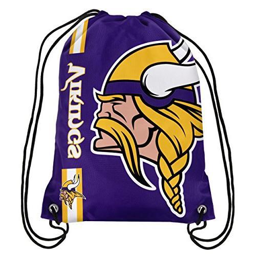 Forever Collectibles Minnesota Big Logo Drawstring Bag