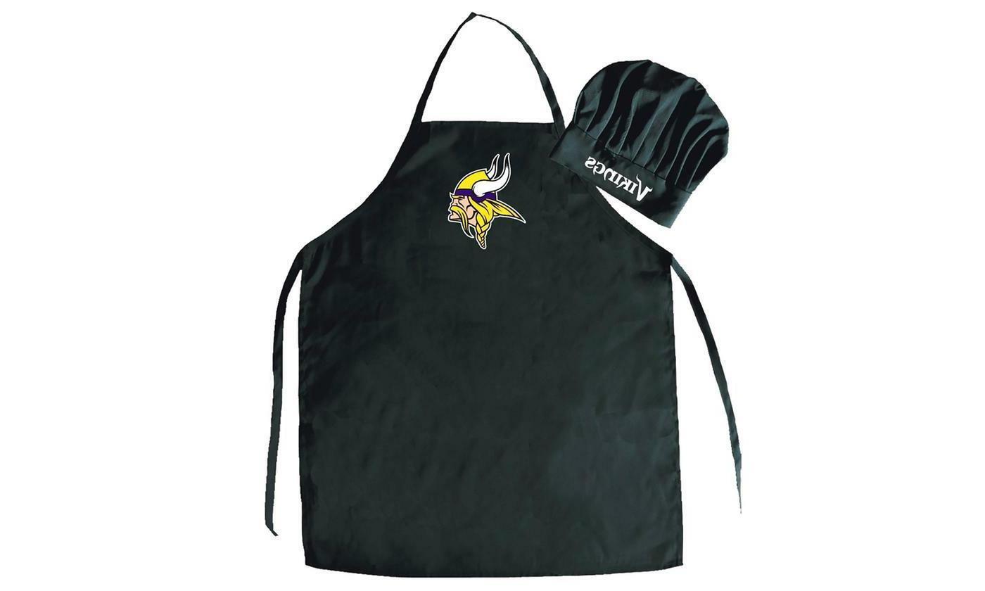 minnesota vikings apron and chef s hat