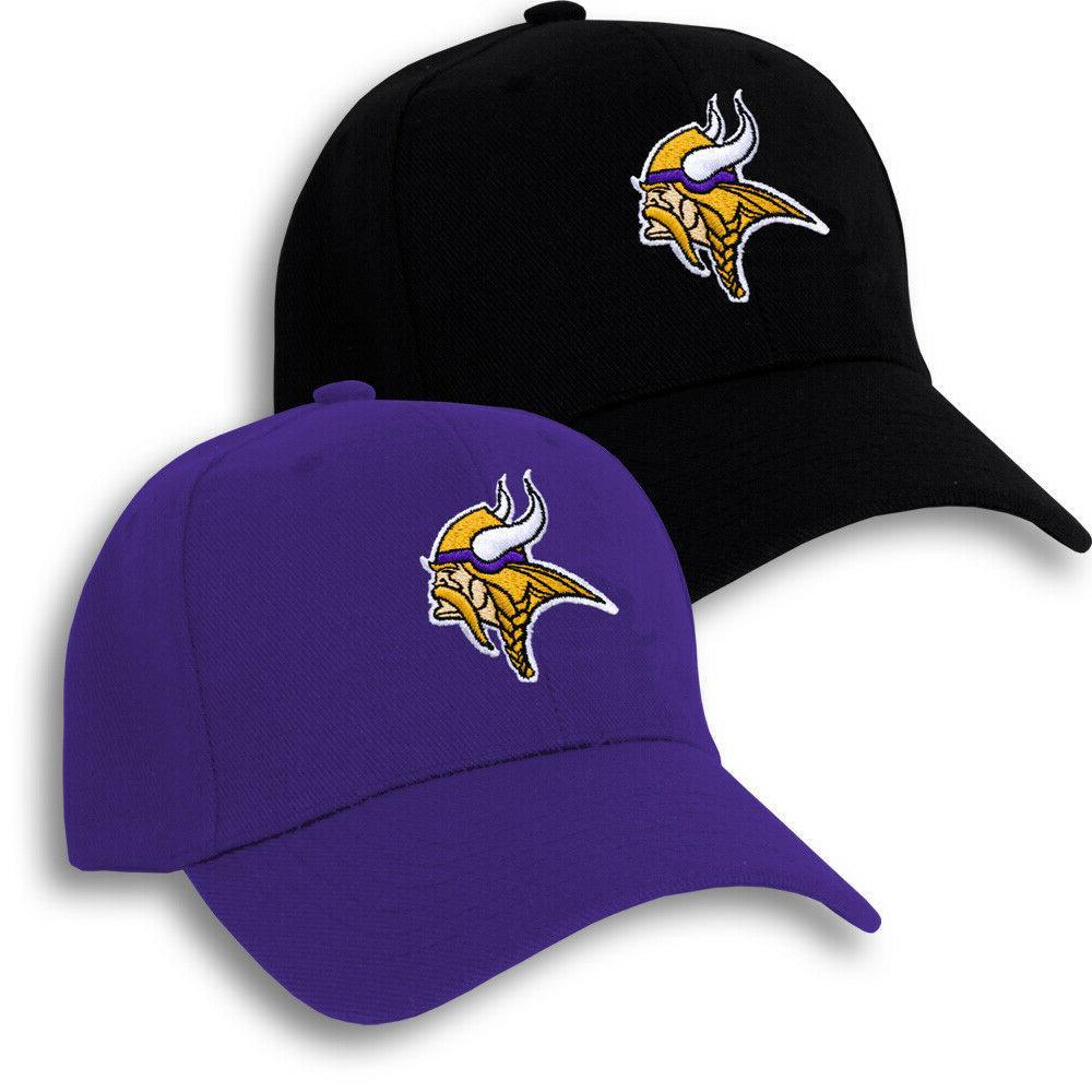 Minnesota Vikings Embroidered Game Adjustable