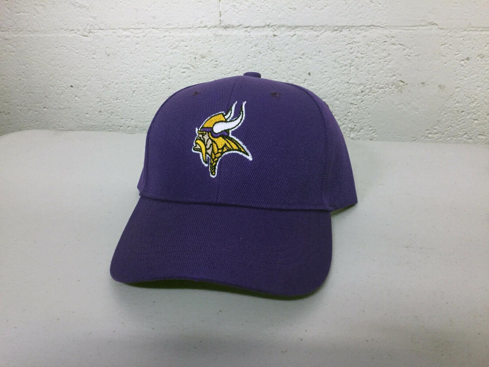 minnesota vikings cap hat embroidered game men