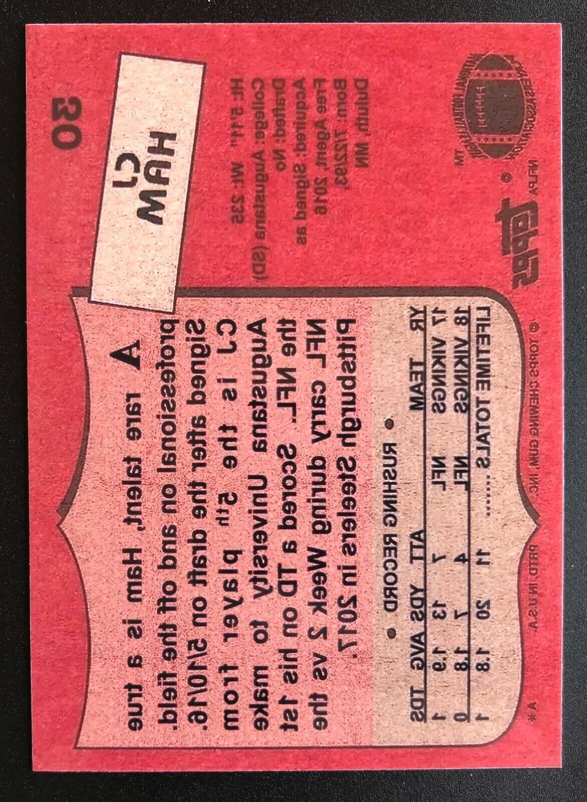 Minnesota CJ Custom Rookie Card RC 1987 Style
