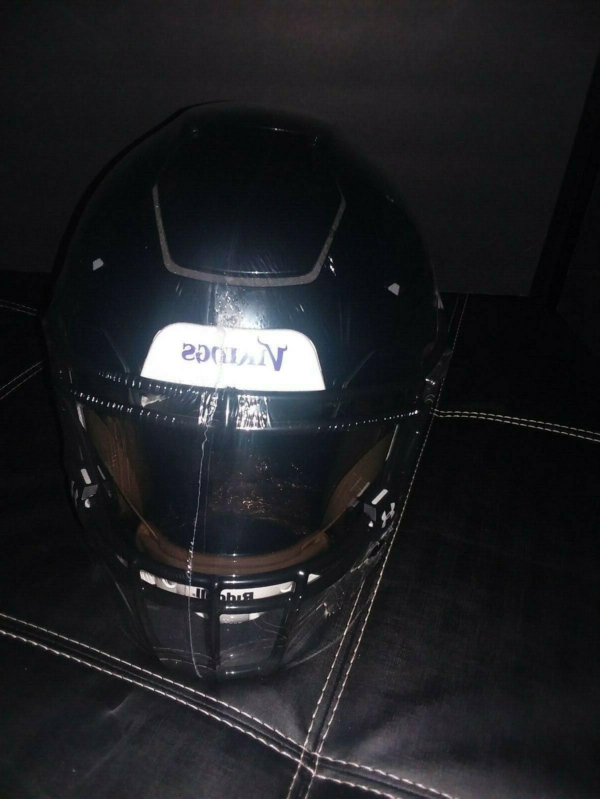 Minnesota Black Helmet