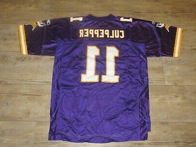 Minnesota Vikings #11 Home size Men's