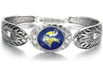 Minnesota 925 Sterling Silver Bracelet Set