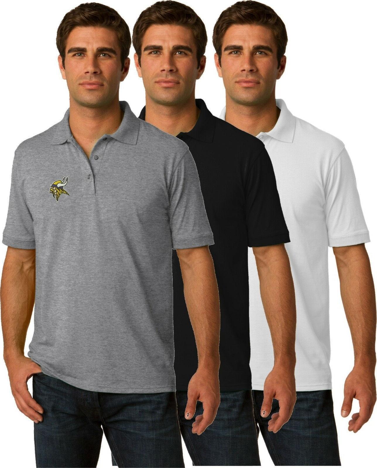 minnesota vikings golf polo shirt up to