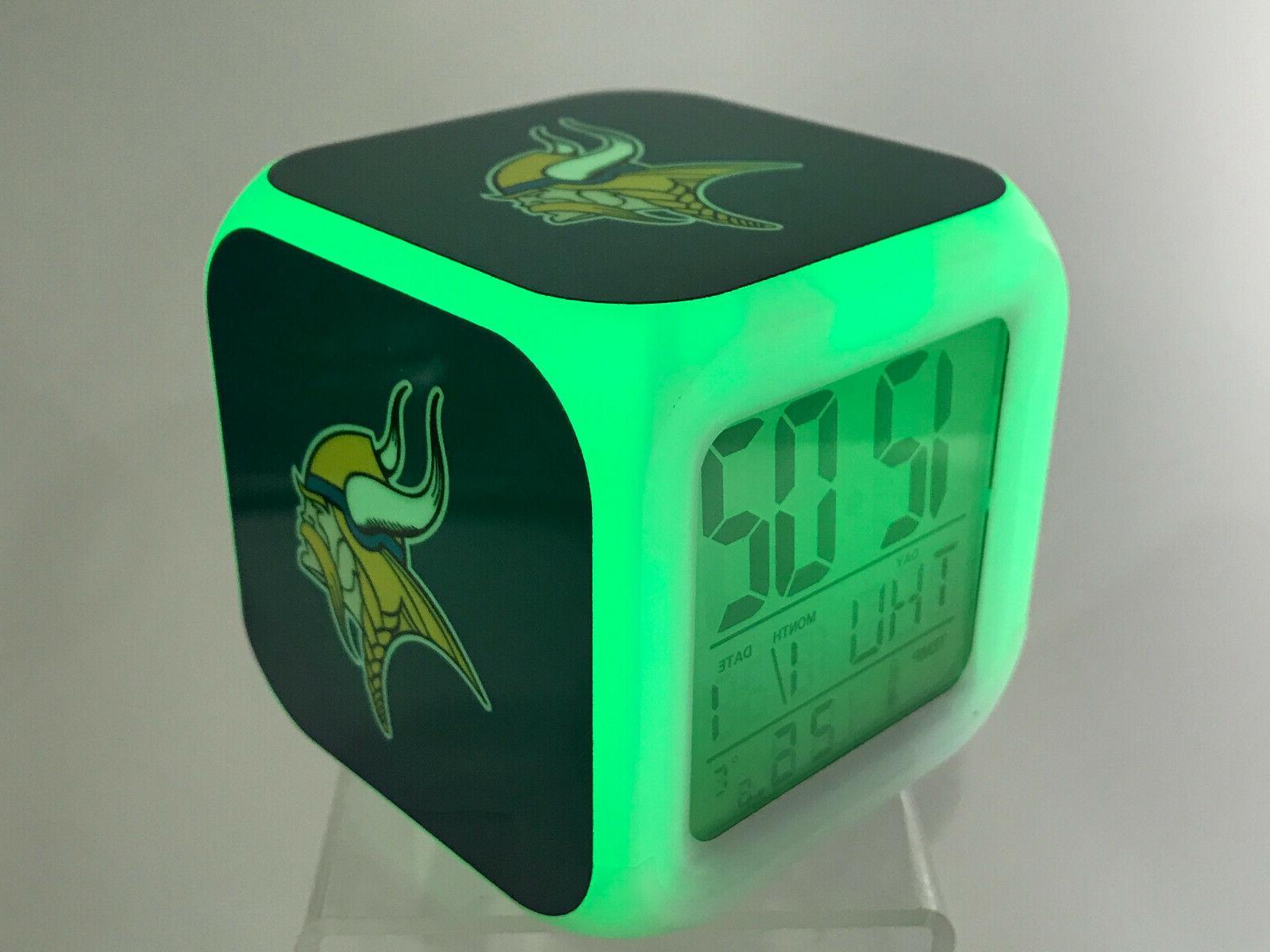 Minnesota Vikings Alarm Decor Kirk