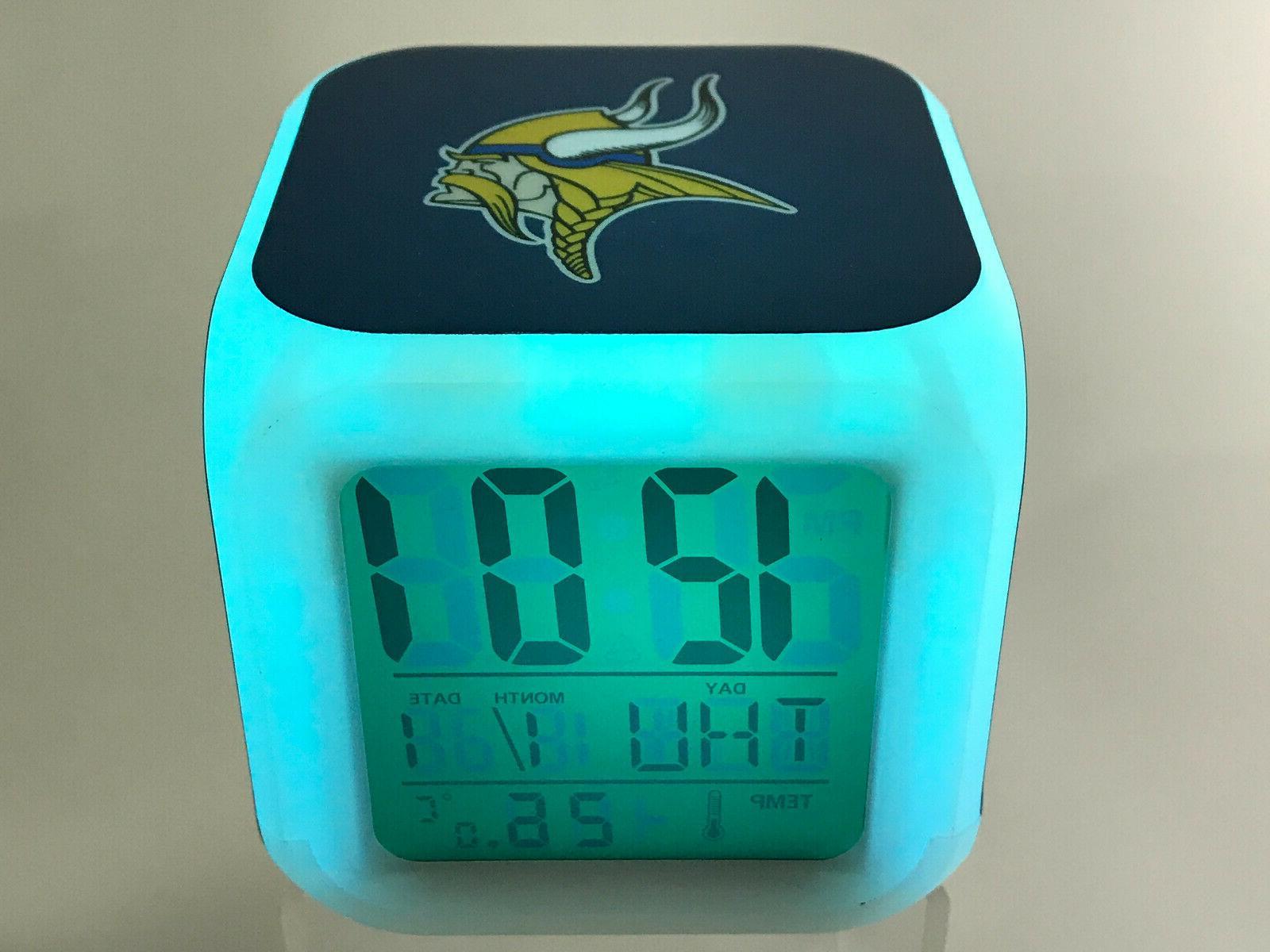 Minnesota LED Digital Alarm Lamp Decor Gift