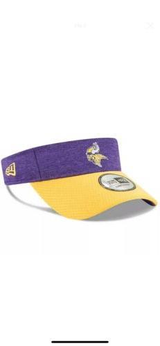 Minnesota Vikings Men's New Era Purple/Gold  NFL Sideline Ho