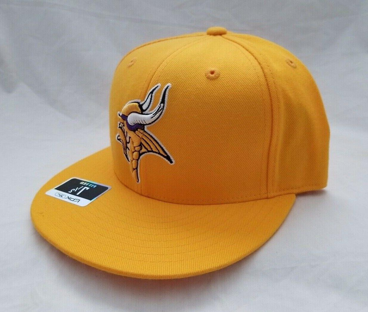 Minnesota Vikings NFL 3D Embroidered Hat Fitted
