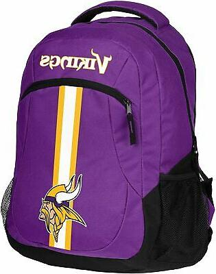 minnesota vikings nfl action backpack