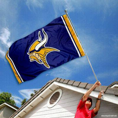 Minnesota NFL x 5 Banner Flag