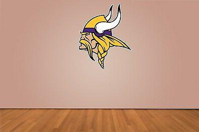 "Minnesota NFL Die Sticker Choose 2""-34"""
