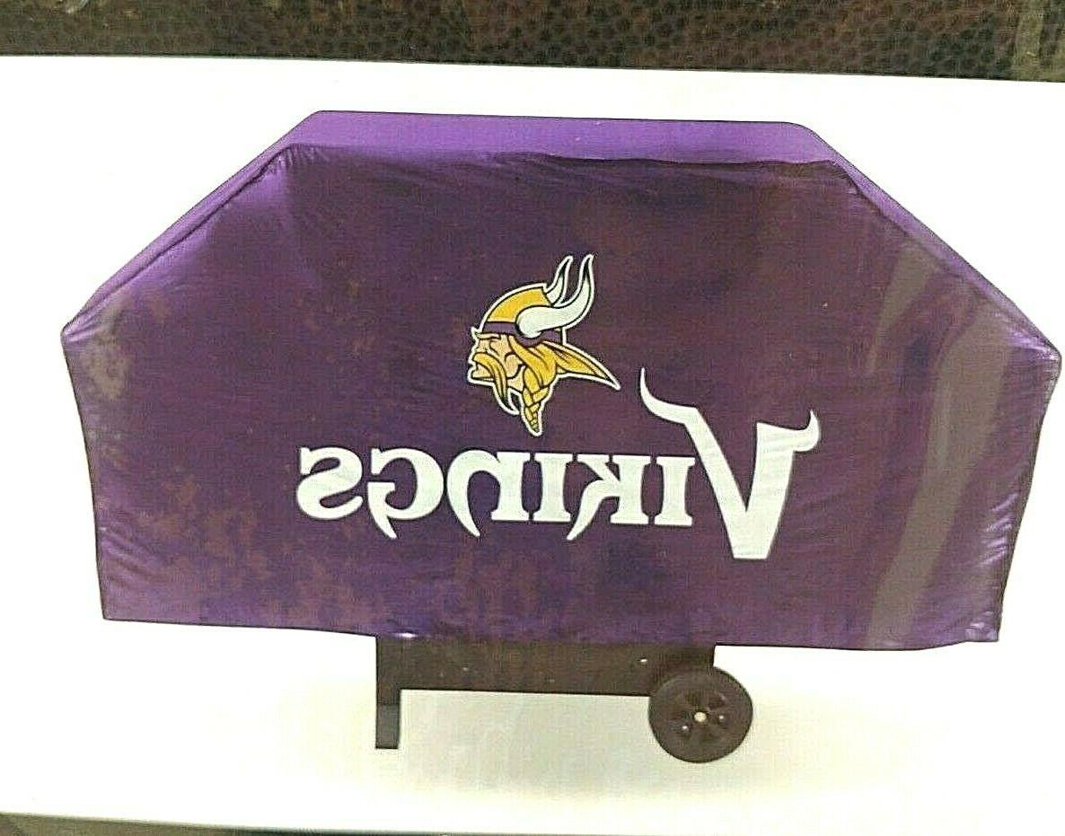 minnesota vikings nfl grill cover skol fits